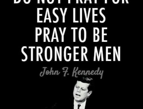 Don't pray for things to get easier, pray to become stronger.